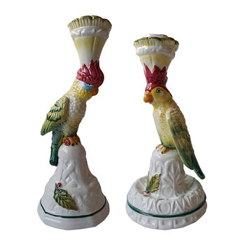 Parrot Candle Holder - Set of 2