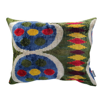 Velvet Cushion - 40x50cm - Multi Circle