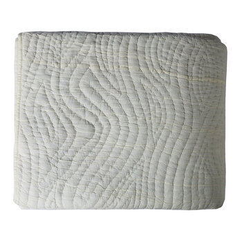 Vision Quilted Bedspread - 260x235cm - Natural