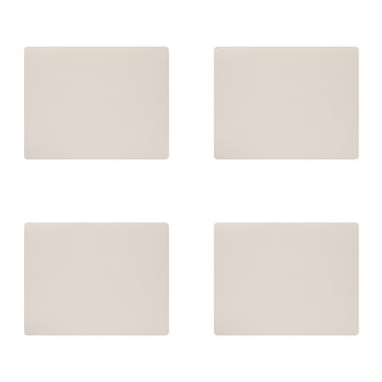 Nupo Square Table Mat - Set of 4 - Soft Nude