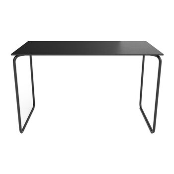 Bull Bench with Fixed Leather - Black