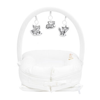 Baby Arch and Toy Set Bundle - White/Cheeky Chums