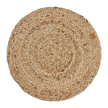 All Natural Round Place Mat - Set of 4 - Natural
