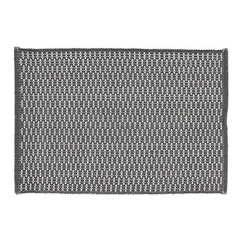Grain Placemat - Set of 2 - White/Gray