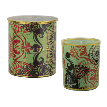 Fico D'India Decorated Candle - Fig & Cedar