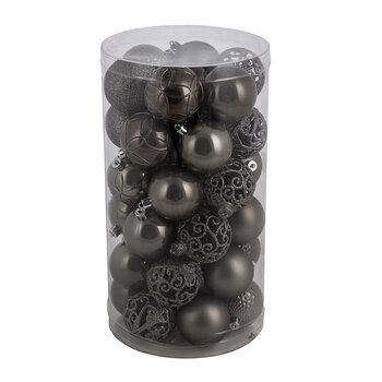 Set of 37 Assorted Baubles