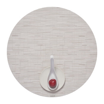 Bamboo Round Placemat - Coconut