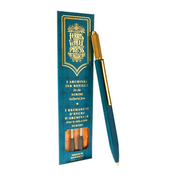 The Scribe Ballpoint Pen - Tatters Teal