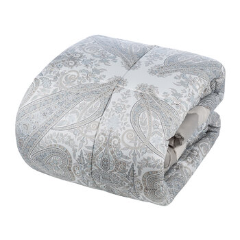 Montclair Quilted Bedspread - Silver - 270x270cm