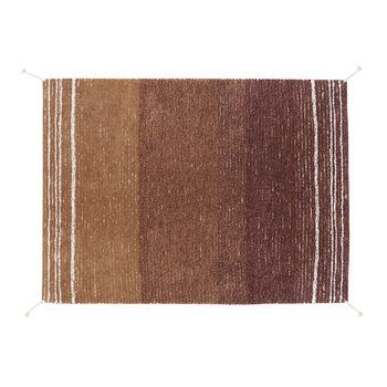 Reversible Washable Rug - Twin Toffee