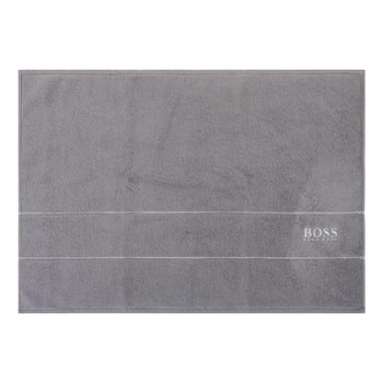 Plain Bath Mat - Concrete