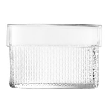 Wicker Glass Container