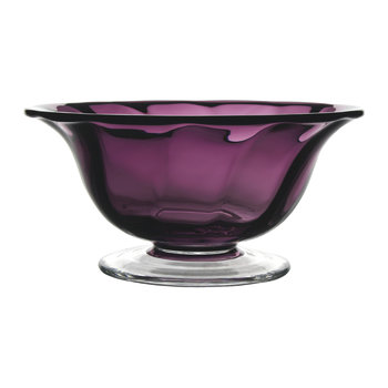 Country Spiral Amethyst Bowl - 30cm