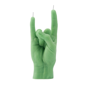 'You Rock' Candle - Green