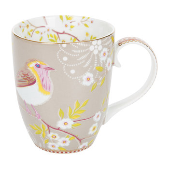 Large Early Bird Mug - Khaki