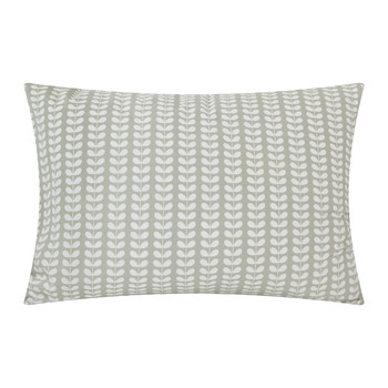 Linear Stem Pillowcases - Set of 2 - Gray