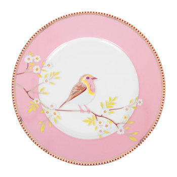 Early Bird Plate - Pink