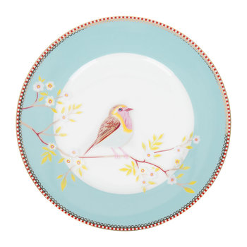 Early Bird Plate - Blue