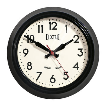 Small Electric Clock - Black