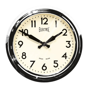 '50s Electric Clock - Chrome