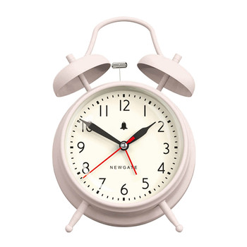 The New Covent Garden Alarm Clock - Dreamy Pink