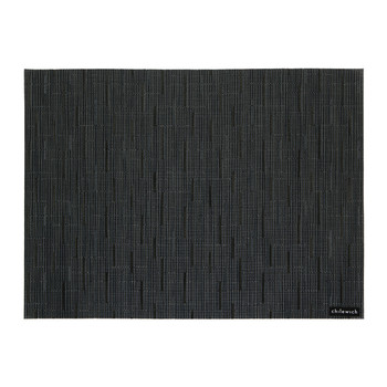 Bamboo Rectangle Placemat - Navy