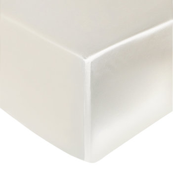 Silk Fitted Sheet - Ivory