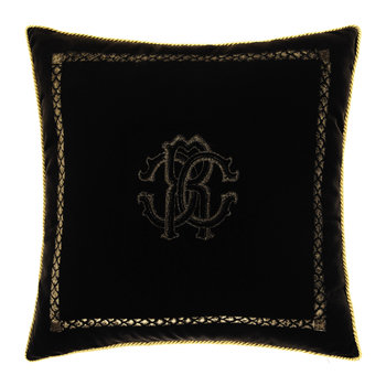 Venezia Cushion - 40x40cm - Black