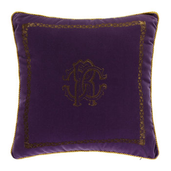 Venezia Reversible Pillow - 40x40cm - Purple