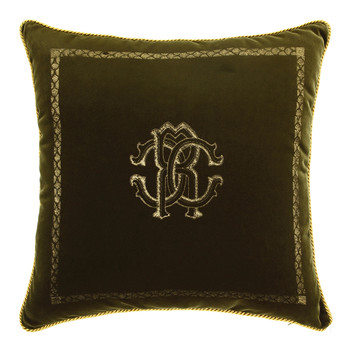 Venezia Cushion - 40x40cm - Olive Green