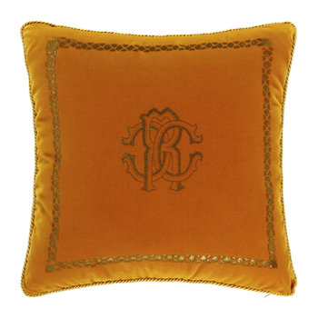 Venezia Reversible Cushion - 40x40cm - Mustard Yellow