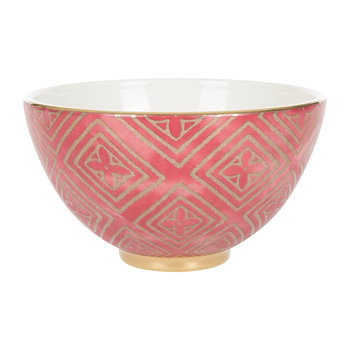 Fortuny Cereal Bowl - Jupon Red
