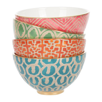 Fortuny Cereal Bowls - Set of 4 - Assortment