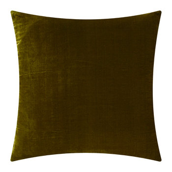 Paddy Velvet Pillow - 50x50cm - Olive