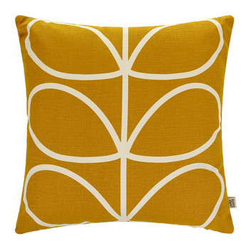 Linear Stem Cushion - 45x45cm - Sunflower