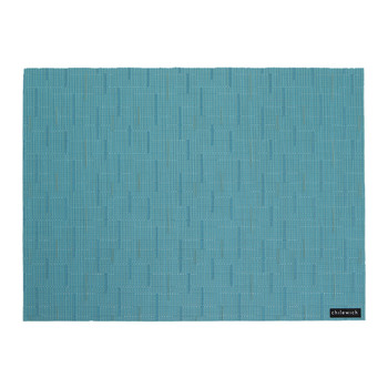 Bamboo Rectangle Placemat - Teal