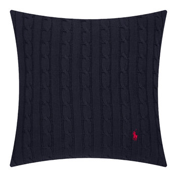 Cable Pillow Cover - 45x45cm - Navy