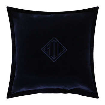 Velvet Pillow Cover - 50x50cm - Navy