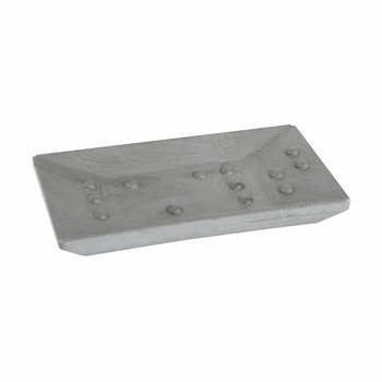 Rectangular Soap Dish - Gray
