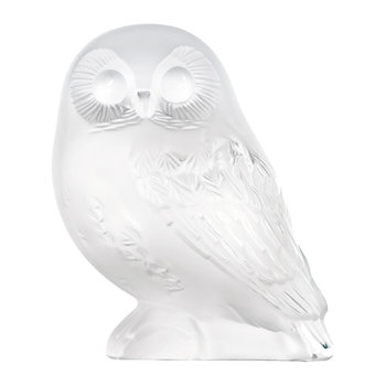 Clear Shivers Owl Figure