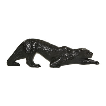 Large Zeila Panther Figure - Black