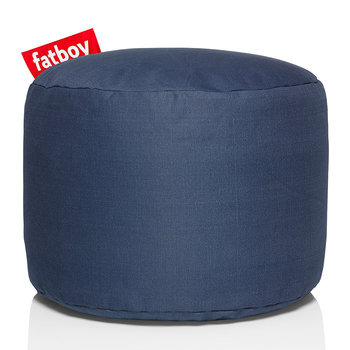 The Point Stonewashed Pouf - Blue
