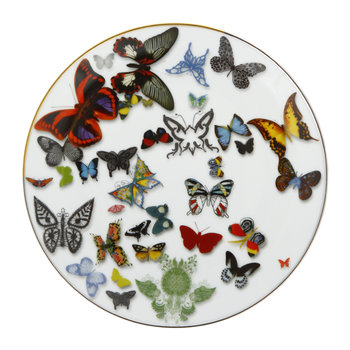 Assiette Butterfly Parade