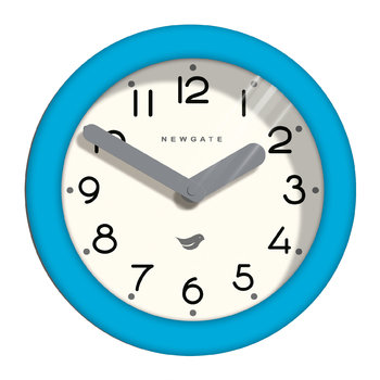 Pantry Clock - Aqua Blue