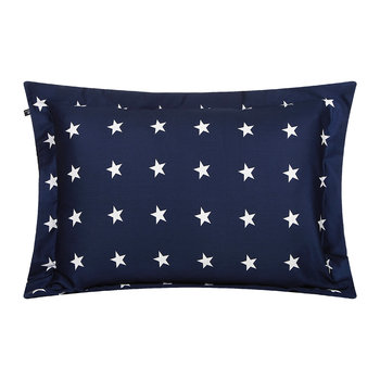All Over Star Kopfkissenbezug - Navy-Blau