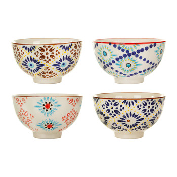 Mosaic Bowls - Set of 4