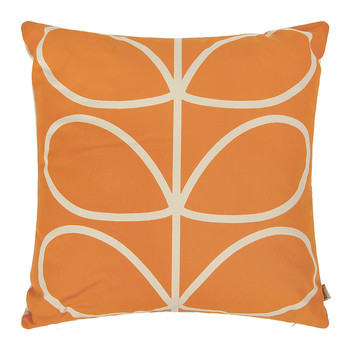 Linear Stem Cushion - 45x45cm - Orange