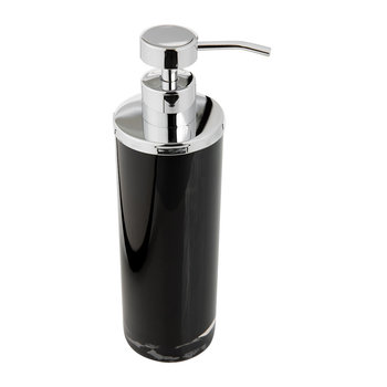 Shiny & Bright Soap Dispenser - Black