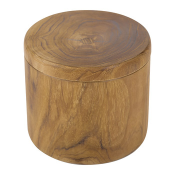 Teak Wood Cotton Box