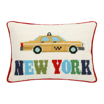 Jet Set New York Cushion - New York